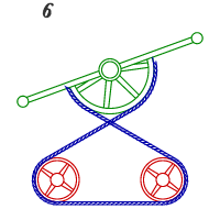 6, Pulleys with Vibrating Lever
